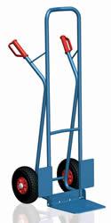 Stahlrohrkarre mit Klappschaufel 2